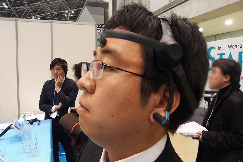 ↑Kenpalのドライブスコアです。頭に装着したセンサーが脳波を読み取り、眠気があるかを感知します