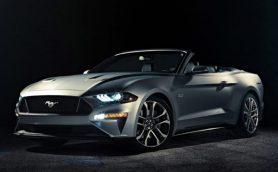 フォードが新型「マスタング・コンバーチブル」を発表! フロントマスクやリアデザインを一新してよりスマートに