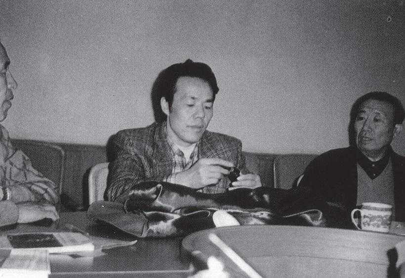 ↑中国の超能力者、張宝勝