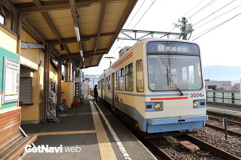 ↑直方市側の終点駅・筑豊直方駅。当初は北九州〜福岡間を走る路線の中間駅として計画された