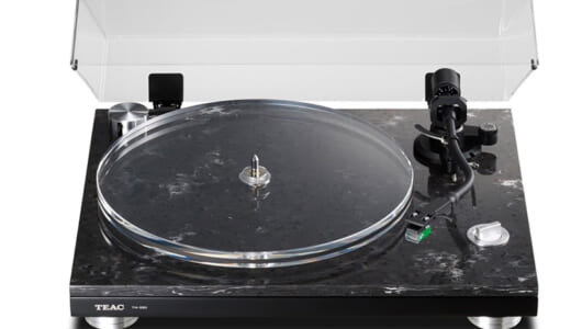 ハイエンド機の魅力をより身近に! レコード再生に特化したティアックのターンテーブル「TN-550」
