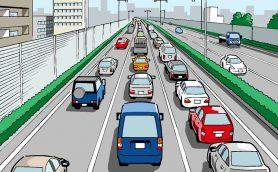 【カーナビ素朴な疑問】 高速道路の大渋滞では 「となりの車線の方が流れている」ように見えるのはなぜ?