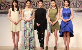 3年ぶり「国民的美少女コンテスト」記者会見で美脚披露の河北麻友子「賞金が違う!」武井咲は意外な努力を告白