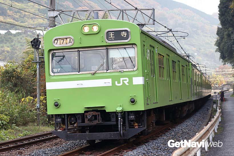 ↑関西線では103系の運用が少なくなり、おおさか東線や奈良線での運用が多くなっている
