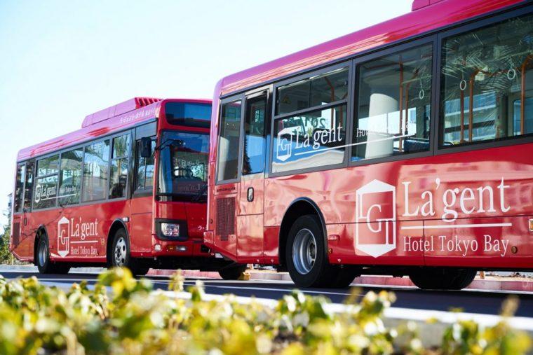 ↑ホテル→舞浜駅→東京ディズニーランド→東京ディズニーシー→ホテルの順に巡回