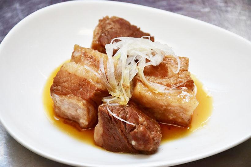 ↑完成した豚の角煮