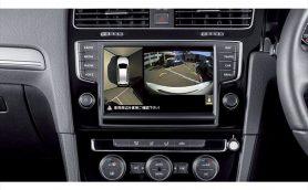 俯瞰視点で安全駐車をサポート! フォルクスワーゲンの新オプション「Surround Eye Camera System」とは?