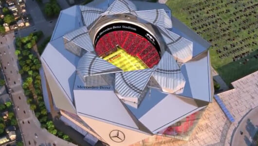 総工費はなんと1800億円! NFLアトランタ・ファルコンズの新スタジアムがとにかくスゴイ!!
