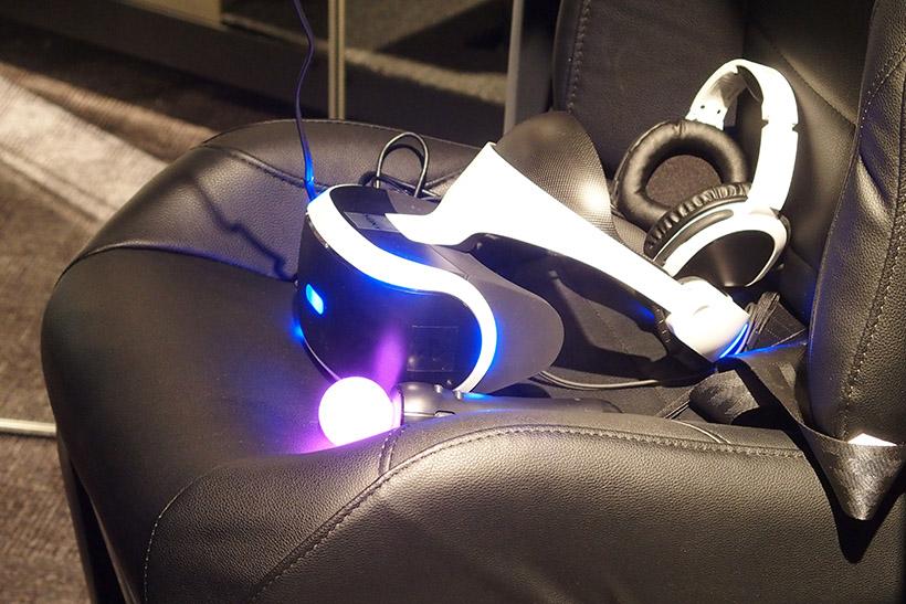 ↑ベースとなっているのはPlayStation VRです