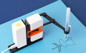 リアルタイムで手の動きをコピー! 遠くにいても絵を描いてくれるロボットが開発されていた