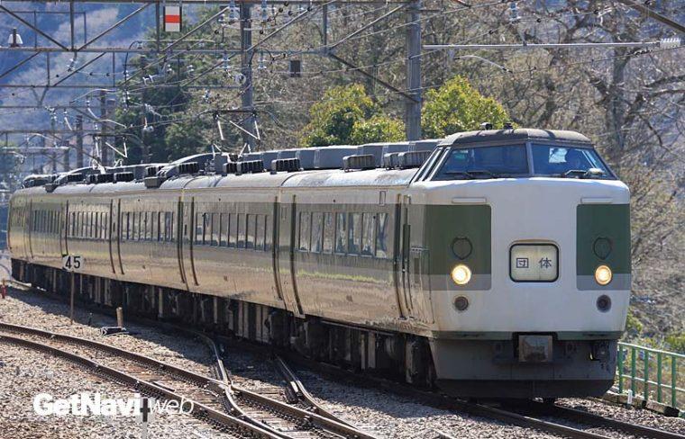 ↑189系旧あさま色はN102編成が残る。写真のN103編成は、残念ながら2015年3月に廃車となった