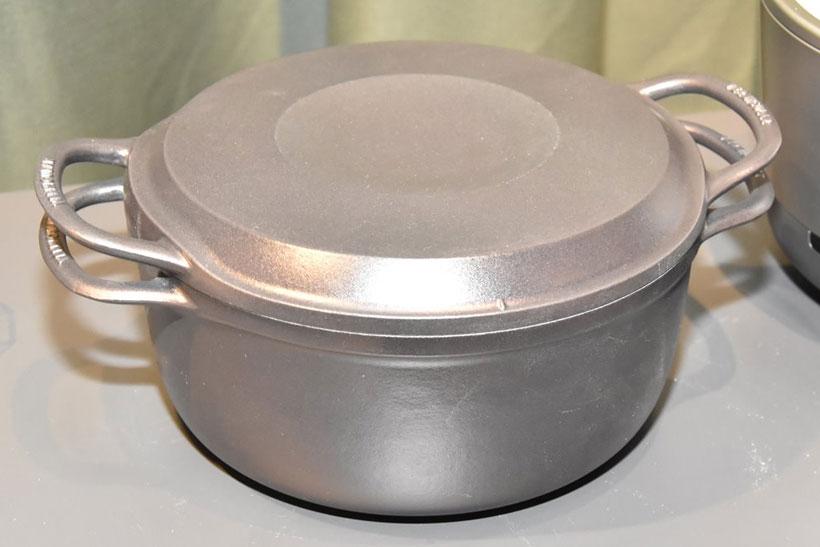 ↑バーミキュラ ライスポットの専用鍋