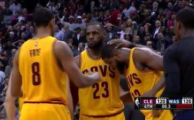 """NBAの""""キング""""レブロン・ジェームズが魅せた! 「100万回に1回」のミラクルショット"""