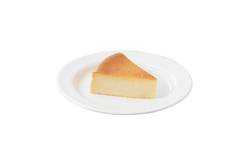 ↑試行錯誤の末に生まれたやや濃厚系のチーズケーキ