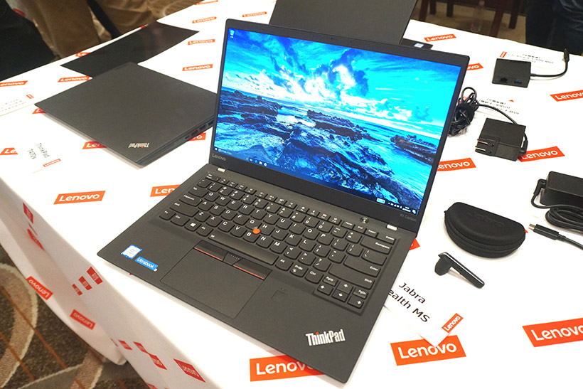 ↑ThinkPad X1 Carbon 2017年モデル
