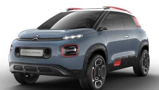 ライバルは日産ジューク? シトロエンが新コンセプトカー「Cエアクロス」を発表!