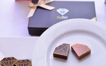 ↑日本で発売されたベルギーブランド「デルレイ」のバレンタイン商品