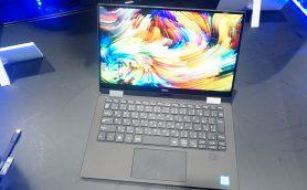 """デルが""""2in1""""で本気を出してきた! エース級のモバイルPC「New XPS 13 2-in-1」はタブレットにもなる"""