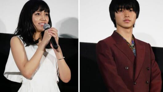 川口春奈、自分の映画で号泣!?  山﨑賢人には「大好きです」と感謝! 映画「一週間フレンズ。」初日舞台挨拶