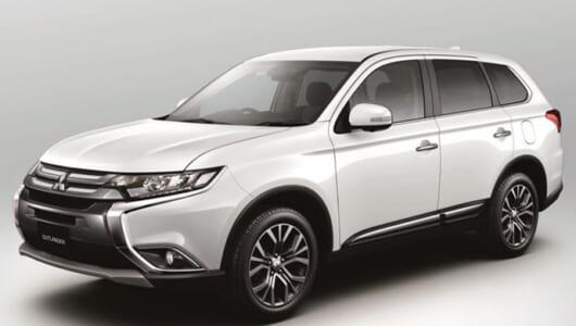 三菱自動車がミッドサイズ SUV「アウトランダー」の安全機能を強化! 3月2日から販売へ