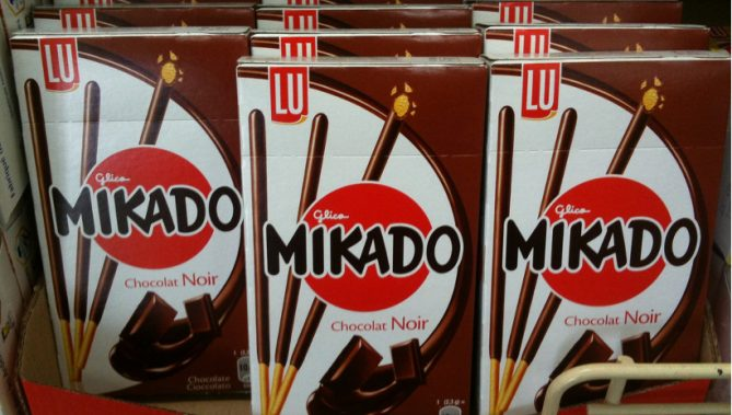 画像出典:Yasuo Kida / ポッキーが Mikado なんて名前を付けられている… (from Flickr, CC BY 2.0)