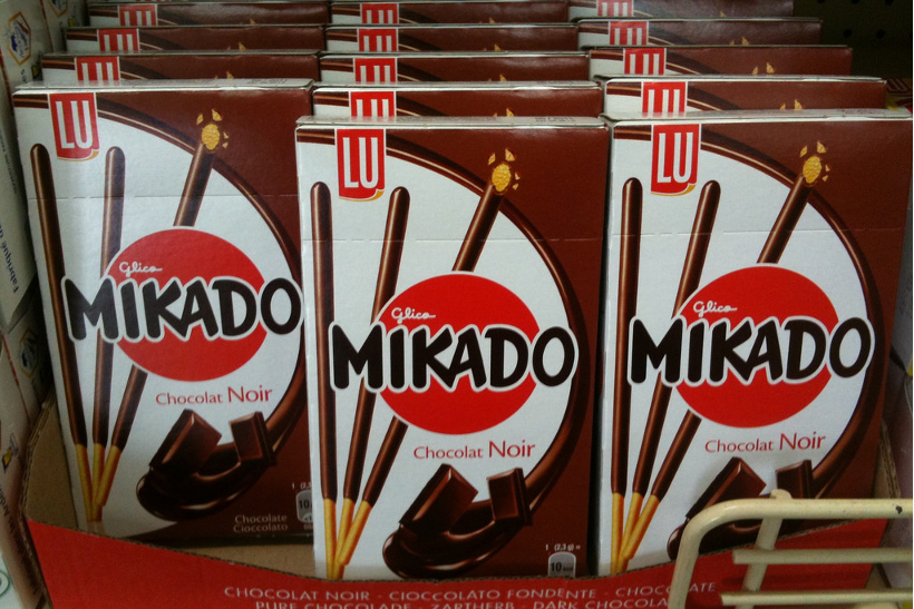 画像出典:Yasuo Kida / ポッキーが Mikado なんて名前を付けられている… (from Flickr, CC BY 2.0)