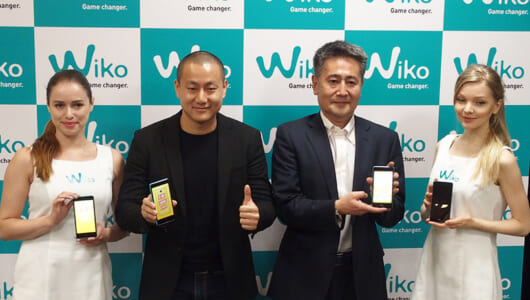 1万4800円の格安スマホ「Tommy」を引っ提げてフランス発のスマホメーカーWikoが日本上陸!