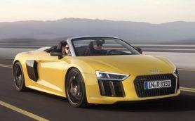 V10の息吹をオープンエアで! アウディR8スパイダーが発売