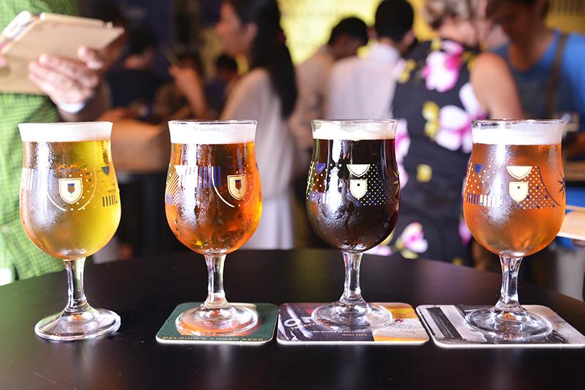 ↑六本木で行われた「ベルギービールウィークエンド 2016」にて