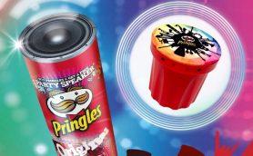 今年はワイヤレスに進化! プリングルズ19缶でBTスピーカーが絶対もらえるキャンペーン