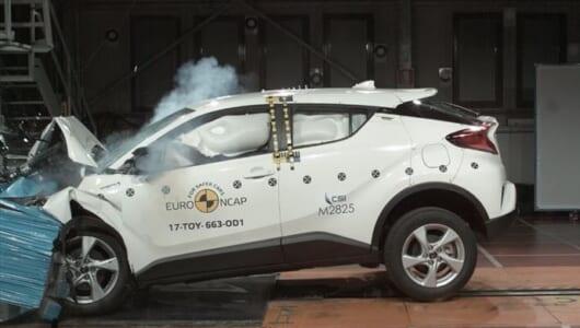 安全性でも品質の高さを証明! トヨタ新型「C-HR」が欧州の衝突安全テストで最高評価を獲得【動画】