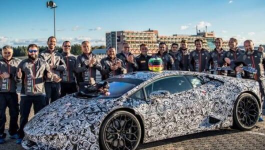 市販車最速タイムを更新! 2013年のポルシェの記録を破ったのはランボルギーニ【動画】