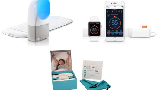 睡眠習慣が劇的に変わる! 海外で人気の「睡眠導入・測定デバイス日本版」3種を徹底比較してみた