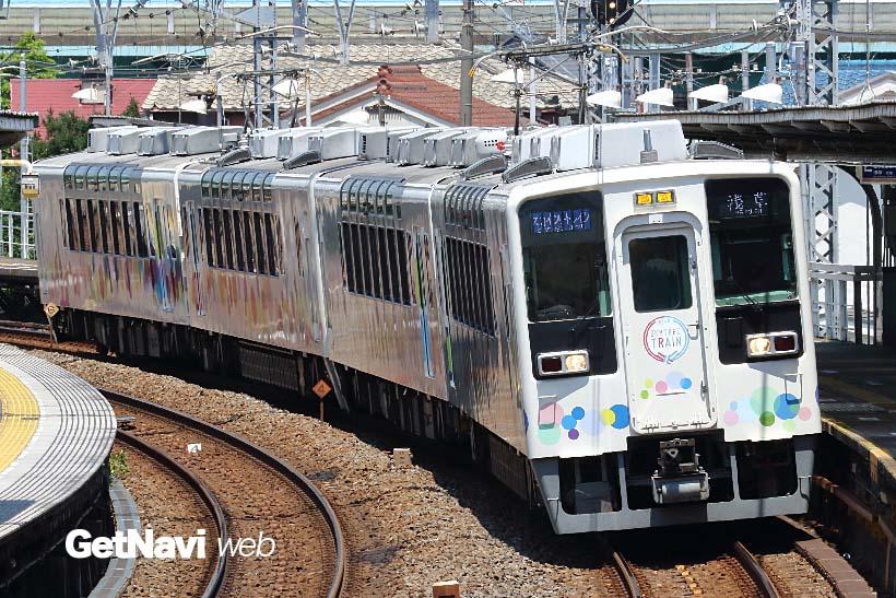 ↑東武鉄道の「スカイツリートレイン」。特定区間以外に南会津などへの臨時列車の運転にも利用される