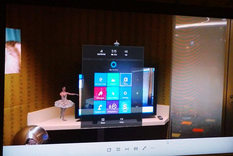 ↑Windows 10搭載なのでもちろんメニューも表示できます。デスクトップのWindowsではなく、Windows 10 Mobileのようなメニューになっています