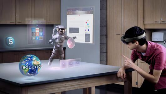 ARでもVRでもない最新技術「MR」とは? バーチャルをよりリアルに近づけるマイクロソフト「HoloLens」