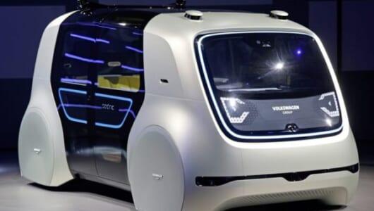 ボタンひとつで自律走行!? VWがSF映画に出てきそうな自動運転コンセプトカーを披露