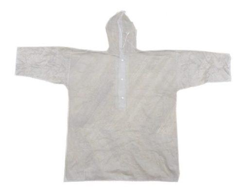 ↑「04」に入っている、雨天時に着用するビニール製のポンチョ。ポンチョを取り出せば、筒自体をコップとしても使用可能だ