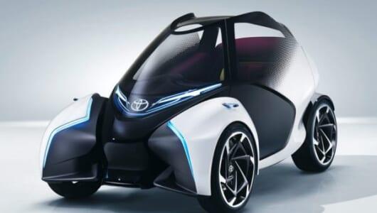 見た目は小さくても「1+2シーター」の3人乗り!トヨタが都市向け小型EVコンセプトを披露