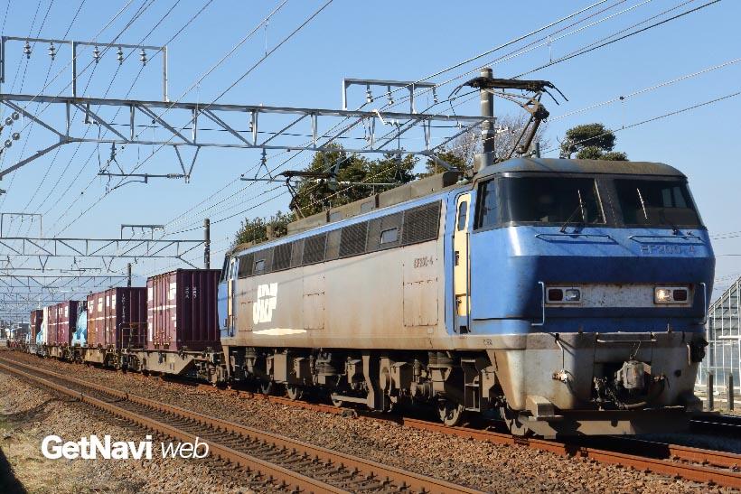 ↑JRとなった後に製造されたEF200も消滅が危惧される電気機関車となっている