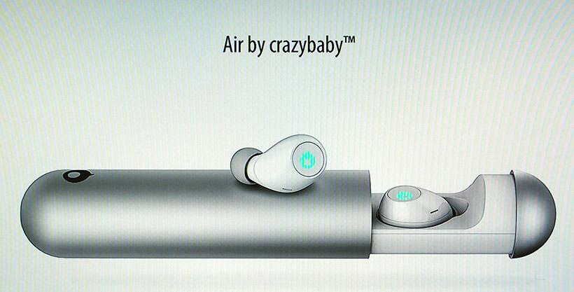 ↑専用ケースに入れておけば自動的に充電され、原音に近いHi-Fiサウンドが楽しめます