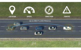 """300m先の危険を予知? キャデラックが""""車が車に危険を知らせる""""新発想の安全システムを発表"""