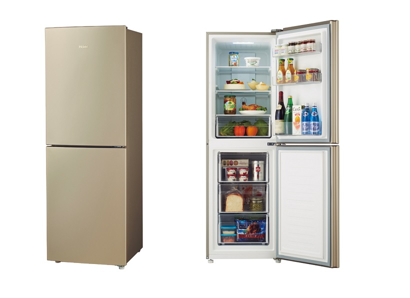 ●定格内容積:218ℓ●冷凍室容積:81ℓ●年間消費電力量295kWh/年●庫内浄化機能:なし●サイズ/質量:565×H1630×D640㎜/54㎏