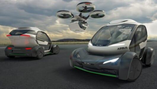 渋滞したらドローンで空を飛ぶ!? EVコンセプトモデル「Pop.Up」が描く未来のドライブ