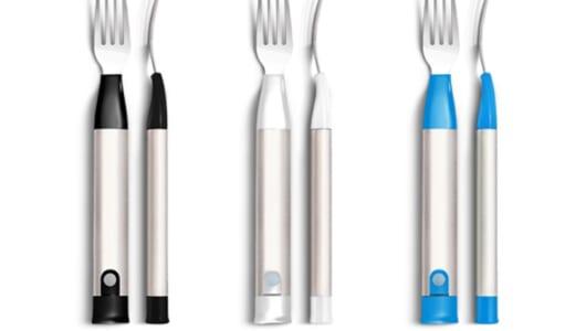 ゆっくり食べる習慣が身に付く! 大人の早食いをやめられる「進化型フォーク」が海外で話題に