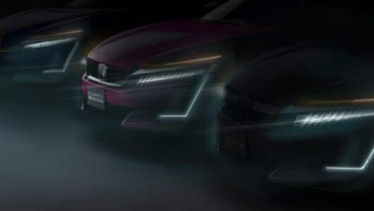 同一モデルにこの3種類は世界初! 燃料電池車「ホンダ・クラリティ」にPHVとEVが追加へ