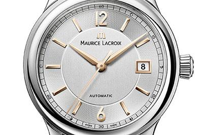 ↑この時計では文字盤の外側にスネイル仕上げを施す