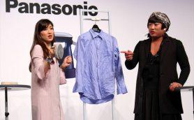 シワもファッション? シワ容認派ヨーコ・フチガミ氏 VS シワ撲滅派パナソニック衣類スチーマー