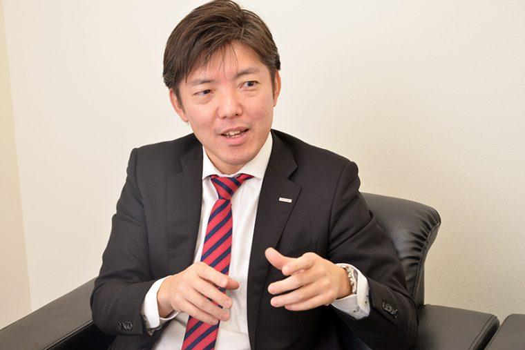 ↑営業部・TCC(鳥貴族カムレードチェーン)事業部担当 山下陽取締役