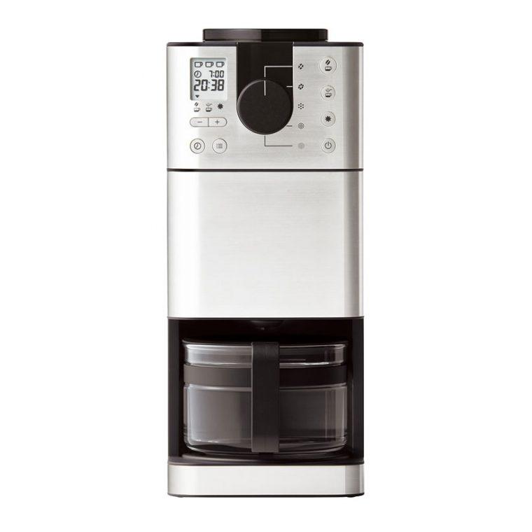 ↑良品計画(無印良品)の「豆から挽けるコーヒーメーカー MJ-CM1」(2017年2月発売、直販価格3万2000円/税込み)